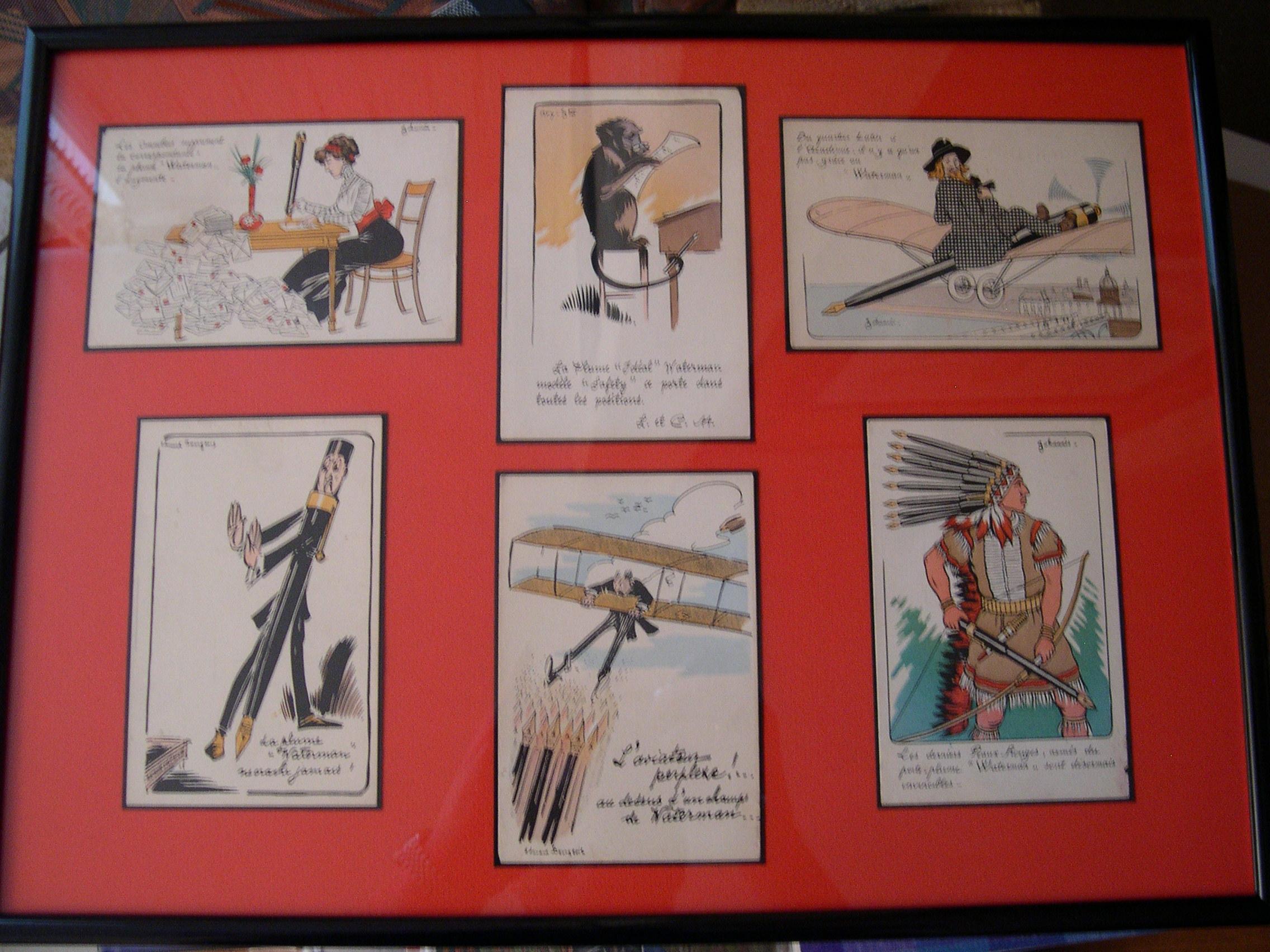 Cartes postales (suite).
